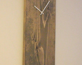 rustic wall clock unique wall clock modern wall clock midcentury wall clock