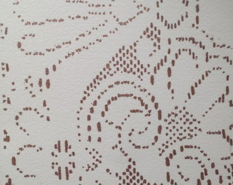 """Lace Drawing """"Deco"""""""