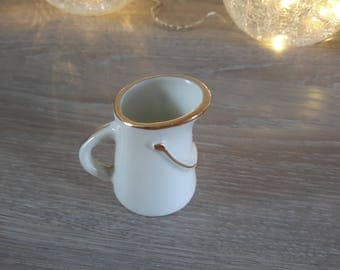 miniature porcelain pitcher Creamer