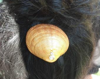Golden Hair Clip