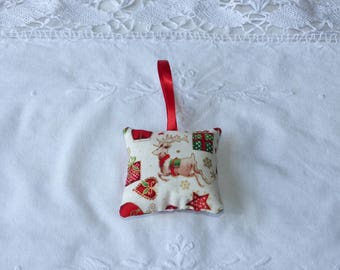 Small Christmas pillow cover