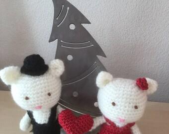 Amigurumi Valentine Dolls dolls