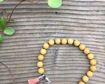 Blessing Bracelet - Yellow Jade