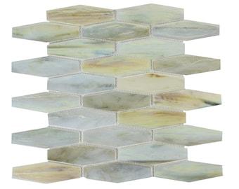 esagono crema mosaic tile