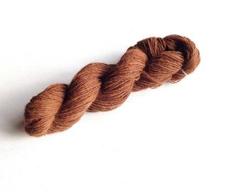 Alpaca Yarn Handspun, Handspun Yarn, Alpaca Handspun, Handspun Yarn 100% Alpaca 15 Micron, Made in Italy