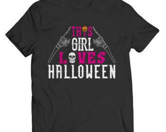Halloween Special Offer - This Girl Loves Halloween T-Shirt