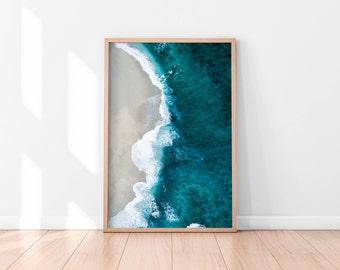 Ocean Wall Art, Beach Wall Art Printable, Ocean Wall Decor, Beach Printable Art, Printable Poster, Digital Print, Digital Download, Water