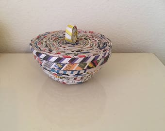 Paper Bowl with top