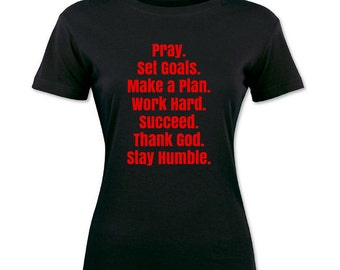 Christian Inspirational T-Shirt Bible God Ministry Church Staff Pastor Youth Cross Jesus Christ