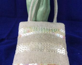 Vintage Sequin Evening/Disco Bag Purse