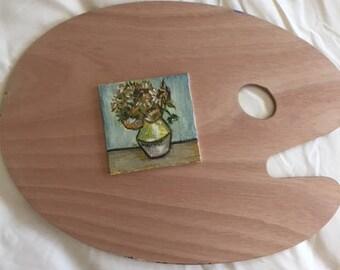 Van Gogh Sunfowers Mini Painting