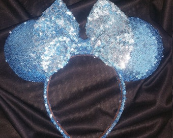 Frozen/Cinderella inspired Minnie Ears