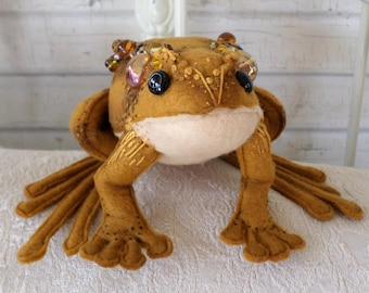 Frog and Toad Cloth Doll Pattern PDF Instant Download Fairy Godmother Paula McGee Sewing Tutorials Fairy Frog Gifts Dolls To Make