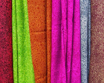 Beach Sarongs Batik Pareo Womens Swimsuit Cover Up - Spirals Print Sarong - Batik Sarong Skirt Beach Cover Up - Spa Wrap Skirt - Surfer Gift
