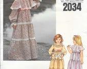 VOGUE 2034 Size 4 Vintage...