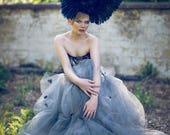 Winged Rose 'Cygnus' Large Couture Statement Headdress