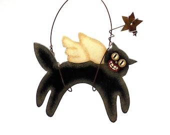 Black Cat, Black Cat Finds, Black Cat Trends, Black Cat Ornament, Cat, Cat Finds, Cat Trends, Halloween Finds, Halloween Trends