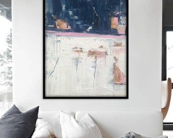 36x30 Inch Large Abstract Painting, Abstract Wall Art. Large Abstract Art. Original Abstract Painting. Large Abstract Wall Painting. Canvas