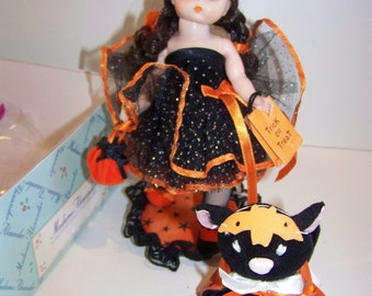 Things that go bump into the night Madame Alexander set 8 indoll and cat
