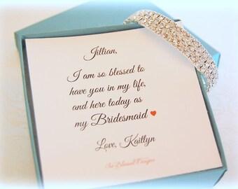 Bridesmaid Bracelet, Bridesmaid Jewelry, Unique Bridesmaid Gift, Bridesmaid Bracelet for Bridesmaids