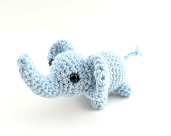 Crochet Elephant - Soft Toy Doll - Stuffed Toy Elephant - Soft Toy - Elephant Toy - Crochet - Amigurumi Toy - MADE TO ORDER