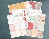 Kate Retro Bakes, Planner Sticker Kit Erin Condren, Planner Stickers, Weekly Kit, Baking Stickers, Erin Condren Planner Stickers, ECLP, WK-3