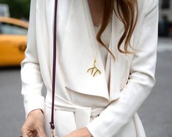 Gold Antler Necklace | Antler Necklace | Deer Necklace | Antler Jewelry | Gold Antler | Christmas Gift | Gifts for her | Stocking Stuffer