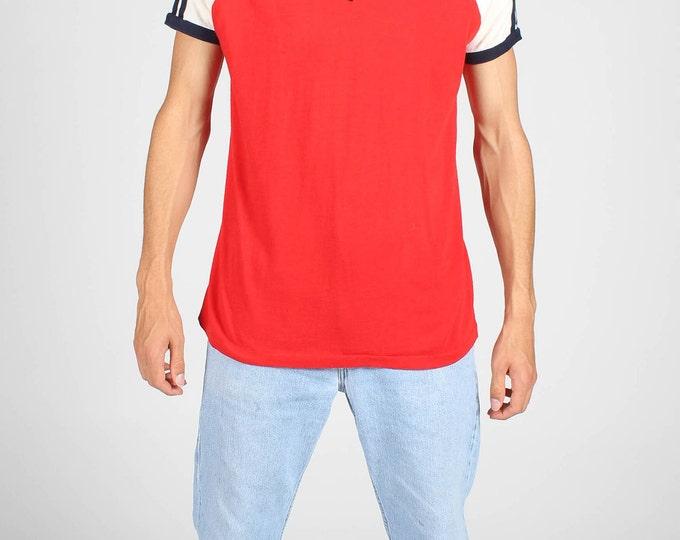 Vintage V Neck T Shirt
