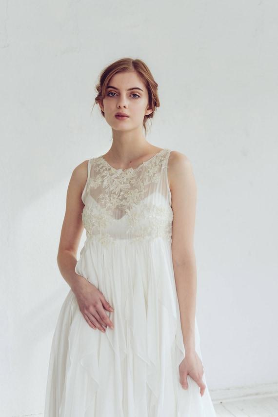 Free Fitted Silk Wedding Dress Maia Pregnancy