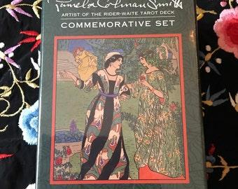 Pamela Colman Smith Commemorative Tarot  Set - Rider Waite Smith Centennial Edition - Tarot Deck