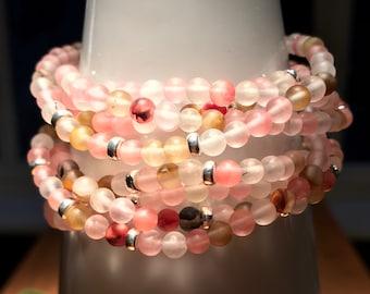Bracelets Ladies bracelet Gemstone bracelet Watermelon tourmaline 925 silver