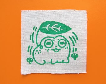 Toad Sew On Patch