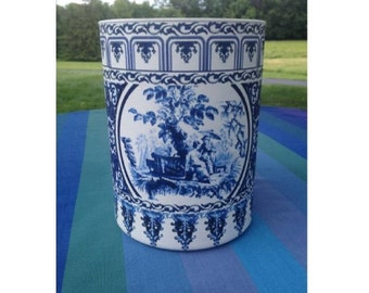 Handmade Chinoiserie Vase, Home Decor, Weddings, Bridal and Baby Showers, Historically Inspired Designs, Personalized Designs Also Available