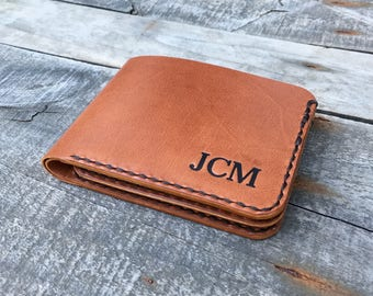 Trifold wallet Leather trifold wallet Kangaroo leather wallet Personalised wallet Mens leather trifold wallet Personalized trifold wallet