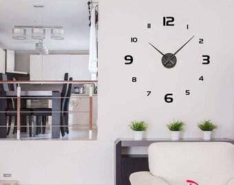 "Big wall clock ""Small numbers"""