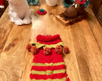 CHRISTMAS MR ELF Bespoke HandKnitted Custom Made Especially for You