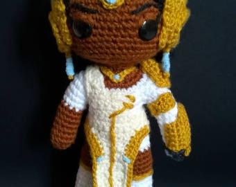 "Overwatch Symmetra Amigurumi doll ""utopaea"" skin"