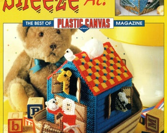 Tissue Box Covers NOTHING To SNEEZE At 12 Plastic Canvas Patterns - Best of Plastic Canvas Magazine Leisure Arts 3416