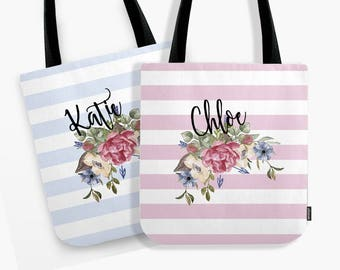Bridesmaid Tote Bag, Bridesmaid Gift, Bridesmaid Gifts, Bridesmaid Bag, Bridesmaid Tote, Bridal Party Gifts, Tote Bag