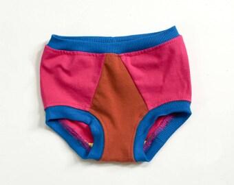 happy undies | magenta colorblock