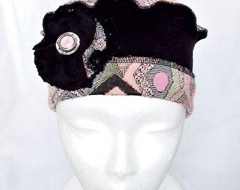 Women chemo headwear, beret,chemo hat,chemo beanie,chemo bonnet,chemo headcover,beret,cancer hat,winter hat,cap,hair loss,beret ,haircover
