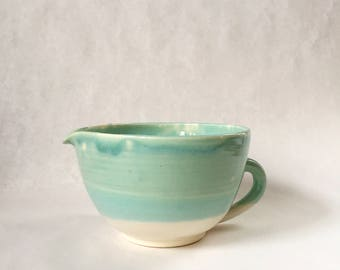 Handmade Ceramic Batter Bowl/ Mixing Bowl