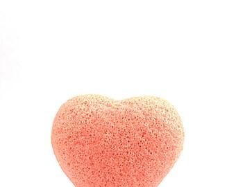 Lycopene Konjac Sponge Heart