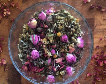 Pms & stress relief tea blend
