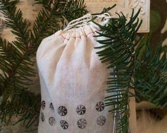 Muslin Bag, Parts Bag, Gift Bag, Supplies, Craft Supply, party favor, bag, goodie bag, treat bag, FREE Shipping
