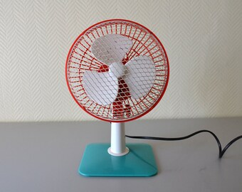 Vintage Table ARDENT 6 desk fan model 608