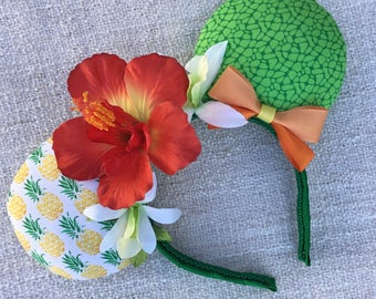 Enchanted Tiki Room / Adventureland /Dole Whip Pineapple / Disney inspired Mouse Ears