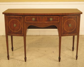 43982EC: KITTINGER D1923 Inlaid Federal Mahogany Sideboard