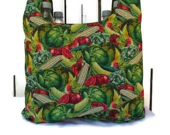 Reuseble Shopping  Bag,  Market Bag,  Shopping Tote,  Farmers Market Bag.