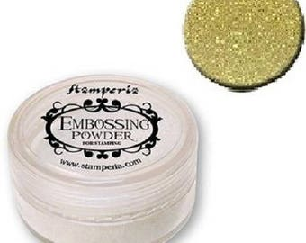 Gold Stamperia embossing powder